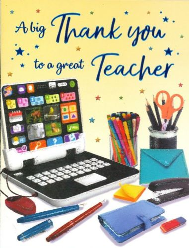 THANK YOU TEACHER C80269